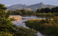 The lodge on the river Kwai